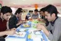 نرخ غذای دانشجویی 98-99